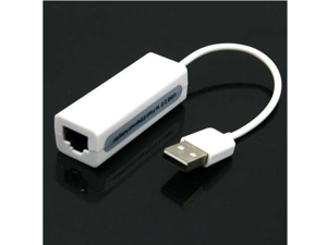 USB 2.0 10/100Mbps RJ45 LAN Ethernet Network Adapter Dongle