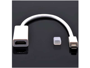 Latest Mini DisplayPort to HDMI Female TV AV HDTV Cable Adapter Audio for MacBook Pro