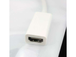 Mini DisplayPort DP Male to HDMI Female Cable Adapter
