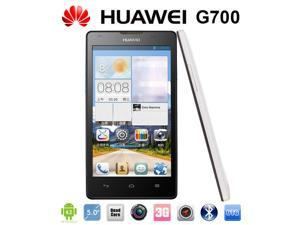 Original Huawei G700 Smart Phone Android OS 4.2 Dual SIM Cards Quad Core RAM 2G ROM 8G Front and Back Cameras Support GPS ...