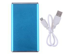 Scud Skyblue 5600mAh Portable Power Bank With LED Light External Backup Charger For iPhone ipad Samsung etc. Universal Batteries