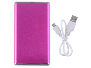 Scud Hot Pink 5600mAh Portable Power Bank With LED Light External Backup Charger For iPhone ipad Samsung etc. Universal Batteries
