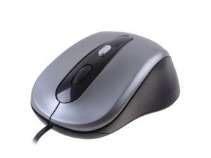Optical USB Mouse Gray 3 Buttons 1 x Wheel USB Wired Optical 800 dpi Mouses For Desktop Laptop