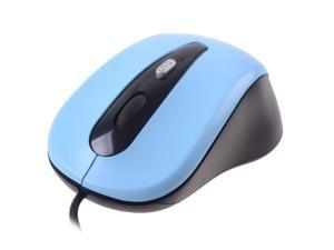 Optical USB Mouse Skyblue 3 Buttons 1 x Wheel USB Wired Optical 800 dpi Mouses For Desktop Laptop