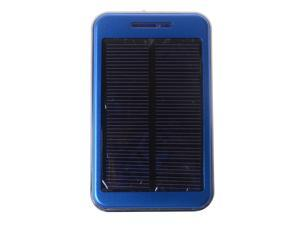 Solar Power Bank 48000mAh  Dual USB Output Blue External Backup Charger Battery For iPhone 4 4s 5 5s ipad ipod Samsung PSP