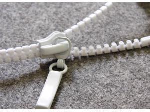 White Bass Metal Zipper Stlye Earphone/Headphone With Mic For Apple iPhone 4 4s 5 5s Xiao Mi Meizu