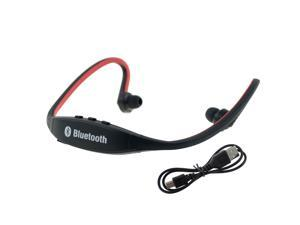 Red Sport Bluetooth Headphones Headset Handsfree With Mic For Running iPhone 4,iPhone 5,5S,5C iPad 4 Mini,iPod,Macbook iMac ...