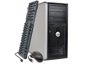 Refurbished: Dell OptiPlex GX620 Mini-Tower - 750GB HDD, 2GB RAM, Windows 7 Home Premium