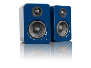 Kanto YU2 Powered Desktop Speakers (Gloss Blue)