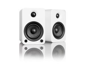 Kanto YU3 Powered Bookshelf Speakers with Bluetooth Technology (Matte White)