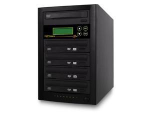 Copystars CD Dvd Duplicator 1 to 4 Sata 24x burner writer DVD copier 128MB buffered tower