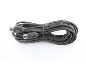 NavePoint 5-Pin Din Male to Male Adapter Cable 12 Ft
