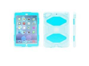Clear/Blue Survivor Case + Stand for iPad Air