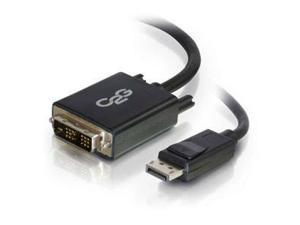 Cables To Go 54328 3FT DISPLAYPORT MALE TO SINGLE LINK DVI-D MALE ADAPTER CABLE - BLACK