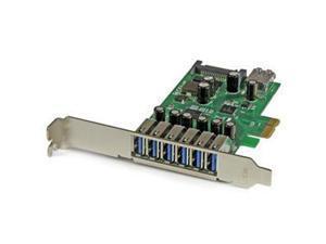 StarTech 7-port PCI Express USB 3.0 card - standard and low-profile design Model PEXUSB3S7