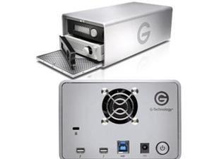 G-Technology G-RAID 12TB USB 3.0 / 2 x Thunderbolt 2 Desktop External Hard Drive 0G04093 Silver