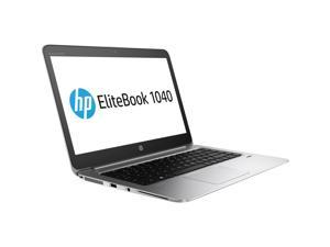 "HP Laptop EliteBook 1040 G3 (V2W21UT#ABA) Intel Core i7 6th Gen 6600U (2.60 GHz) 8 GB Memory 256 GB SSD Intel HD Graphics 520 14.0"" Windows 7 Professional 64-Bit (downgrade from Windows 10 Pro)"