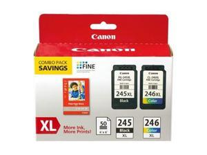 Canon PG-245XL/CL-246XL Ink Cartridge Black/Color Value Pack, 8278B006