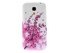 Topforcity Pink Peach Blossom Pattern Hard Case for Samsung Galaxy S4 Mini I9190
