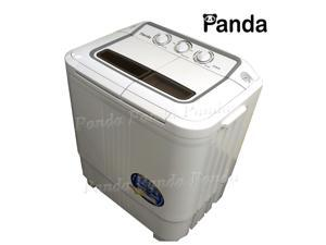 Panda XPB36 Small Compact Portable Washing Machine(6-7lbs Capacity) with Spin Dryer
