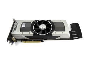 GeForce GTX Titan Z 12GB GDDR5 PCI Express 3.0 x16 Video Card, KF4RV