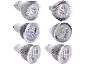 White Energy Saving Power 3W 4W 5W Gu10/Mr16 LED Spot Light Lamp Bulb Warm Cool