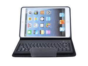 Bluetooth Wireless Keyboard with PU Leather Case Stand Cover for Apple iPad mini