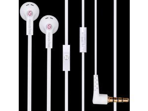 3.5mm Handsfree Earphone Headphone Headset with Mic for iPhone 5 5G 4 4S iPod