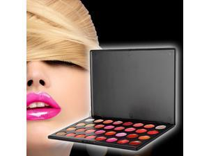 Details about  Kit 32 Colors Lipstick Lip Gloss Cosmetic Makeup Palette Party Lady Make Up