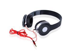 Red 3.5mm Headphone for iPod Phone PC MP3 MP4 MP5 Earphone Earbuds Stereo