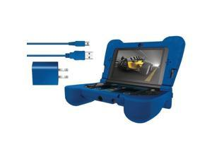 DREAMGEAR DG3DSXL-2274 Nintendo 3DS(TM) XL Power Play Kit (Blue)