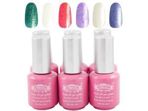 Prefect Summer 2014 New Gel Polish 8ml 35g 6PCS/LOT  6 Colors UV Nail Beauty Products