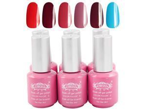 Prefect Summer 2014 New Gel Polish 8ml 35g 6PCS/LOT  6 Colors UV Nail Beauty Products