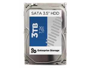 """HP 628063-B21 3TB 7200 RPM SATA 3.0Gb/s 3.5"""" Internal Hard Drive"""
