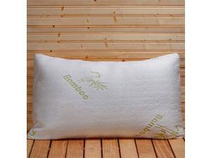 Refael Collection™ Bamboo Memory Foam Hypoallergenic Pillow with Carry Bag - King Size
