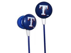Official Licensed iHip MLB Noise-Isolating Earphones - Texas Rangers