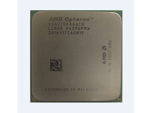50pcs AMD Dual-Core Opteron 270 OSA270FAA6CB 2.0Ghz L2 Cache Server Socket 940 CPU