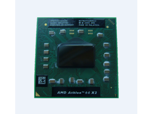 AMDTK55HAX4DC AMD Athlon 64 X2 TK-55 Laptop Dual-Core CPU 1.8GHz/512K/Socket S1