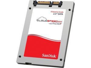 """SanDisk CloudSpeed Eco SDLFNDAR-960G-1HA2 2.5"""" 960GB SATA III cMLC Enterprise Solid State Disk"""