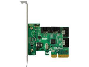 HIGHPOINT TECHNOLOGIES R640L 4CHANNEL 6G SATA PCIE HBA 4X