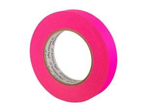 PRO TAPES & SPECIALTIES UPCA3460MFLPIN PRO ARTIST PAPER TAPE FLUORESCENT PINK 3/4 INCH X 60 YARDS