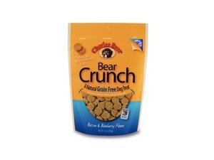 CHARLEE BEAR CB-131302 CHARLEE BEAR GRAIN FREE BEAR CRUNCH BACON BLUEBERRY 8OZ