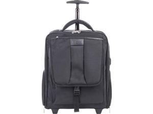 "Bond Street Carrying Case (Rolling Backpack) for 15.6"" Notebook, Travel Essential - Black"