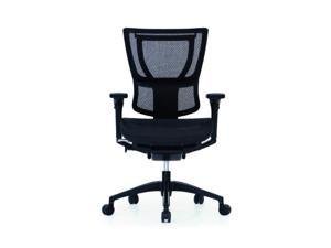 iOO Eurotech Office Ergonomic Chair Black Mesh and Black Frame (NO Head Rest)
