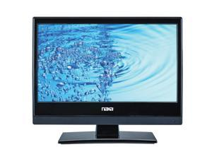 "Naxa NTD-1356 13"" 720p HD LED TV with Built-In Digital TV Tuner & DVD/Media Player + Car Package, Black"