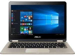 ASUS VivoBook Flip TP301UA-WB51 13.3'' Ultra Slim 2-in-1 Full HD Touch Laptop, 6GB RAM, 256GB SSD, Windows 10, Icicle Gold Notebook PC Computer Tablet Touchscreen