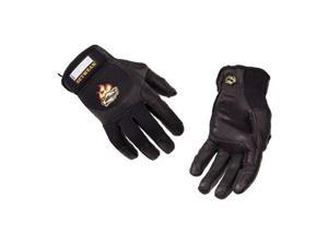 Setwear Pro Leather Gloves X Small Black/Black #SWP05007