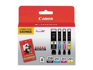 Canon Usa Pgi-251 And Cli-251 4 Color Combo Pack