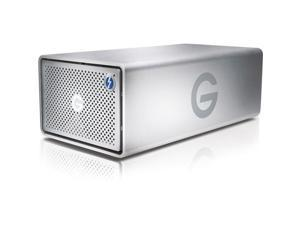 G-Technology G-RAID 16TB USB 3.0 / 2 x Thunderbolt 2 Desktop External Hard Drive 0G04097 Silver