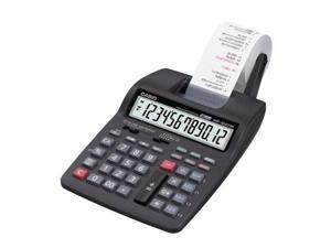 HR-100TM Two-Color Portable Printing Calculator Black/Red Print 2 Lines/Sec